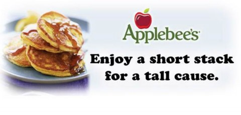 Applebee's Pancake Breakfast benefiting the American Red Cross