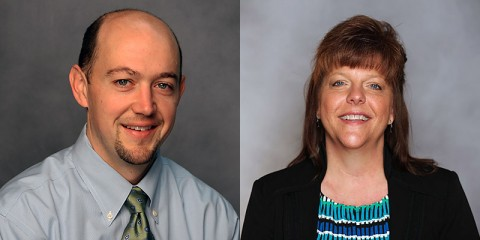 (L to R) Dr. Mason Bellamy and Dr. Ann Griffin. (CMCSS)