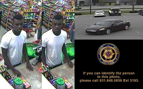 The person in this photo is wanted in connection Vehicle Burglaries in Clarksville area Day Cares. If you can identify the person in this photo, please call 931.648.0656 Ext 5195.