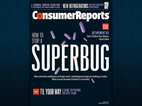 New report investigates the rise of the superbug and offers advice on immediate actions to thwart the spread; CR survey reveals 41 percent of Americans unaware of antibiotic resistance.