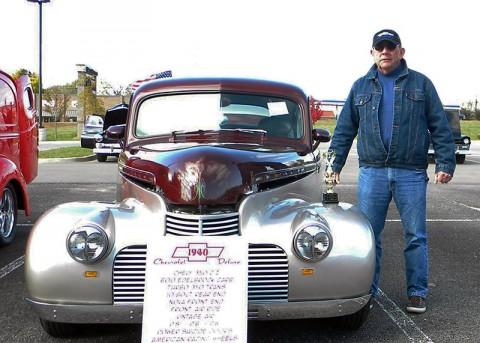 An entry in last year's Crisis 211 Big Baddy Car show.