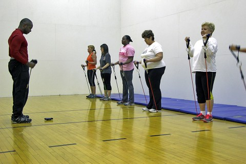 """Just Ordinary Exercise"" classes have a few openings remaining for Monday's class."