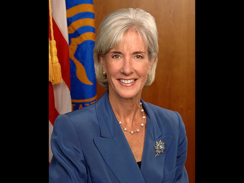 U.S. Secretary of Health and Human Services Kathleen ...