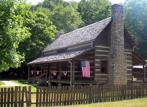Land Between the Lakes The Homeplace 4th of July Celebration. (LBL Staff photo)