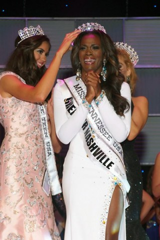 Miss Tennessee USA Kiara Young.