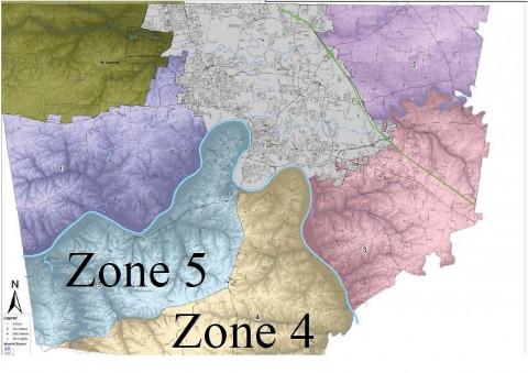 Montgomery County Zones 4 & 5.