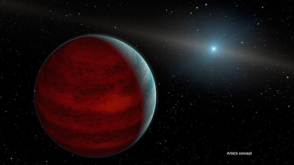 NASA's Spitzer Space Telescope finds Rejuvenated Planet around ...