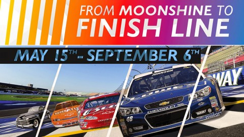 Nascar Exhibit -  From Moonshine to Finish Line at the National Corvette Museum