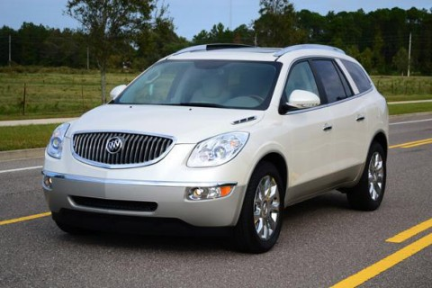 2012 Buick Enclave is one of the models being recalled.