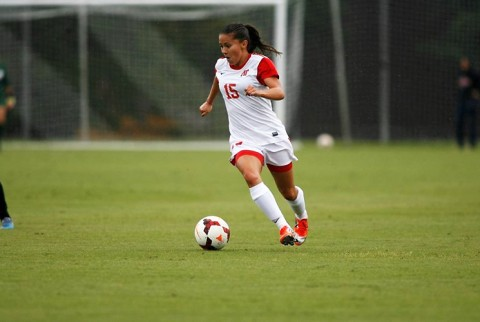 Former Austin Peay Soccer player Tatiana Ariza. (APSU Sports Information)