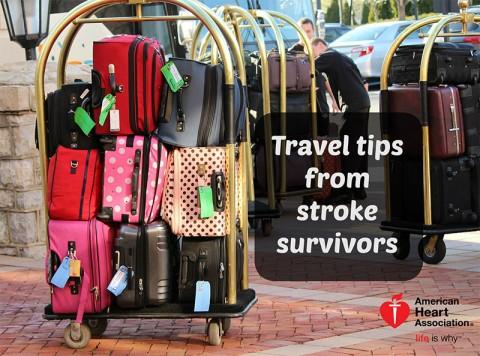 American Heart Association Travel Tips for Stroke Survivors