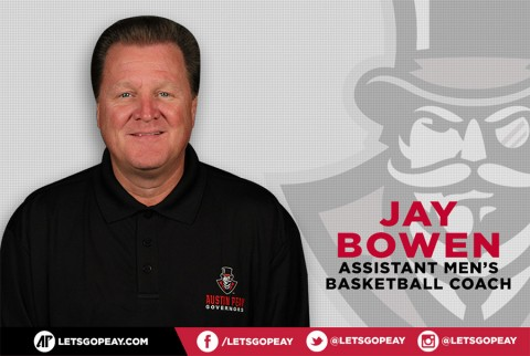 Austin Peay Men's Basketball Assistant Coach Jay Bowen