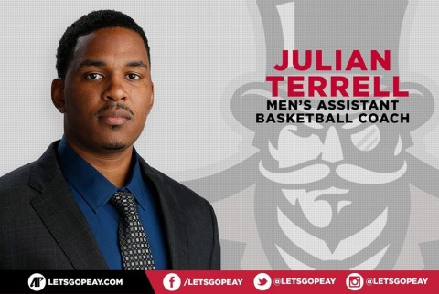 Austin Peay Men's Basketball Assistant Coach Julian Terrell