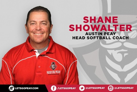 Austin Peay Softball Coach Shane Showalter