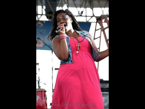 Gospel singer Dionne Jermia is one of many talents at this year's Stompfest for Christ.