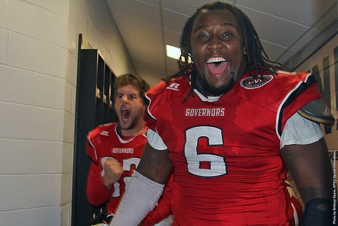 Former Austin Peay Football Player Malcolm Goines. (APSU Sports Information)