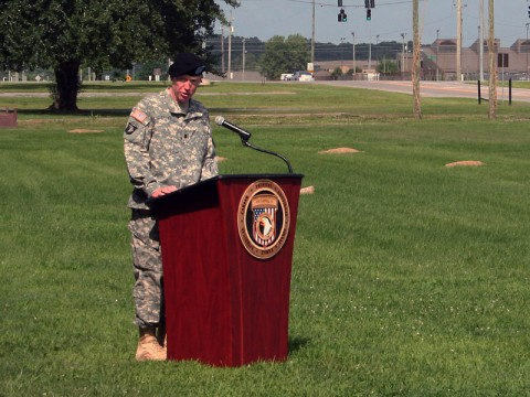 "Lt. Col. Lyle ""Chip"" Finley assumes Fort Campbell Warrior Transition Battalion Command July 10th. (BACH)"