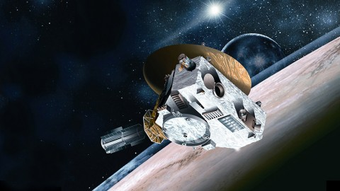 Artist conception of New Horizons Spacecraft. (Johns Hopkins University Applied Physics Laboratory/Southwest Research Institute)