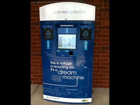 PepsiCo Dream Machine kiosk