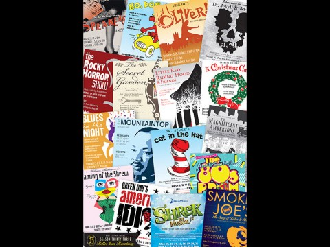 Roxy Regions Theatre's 33rd Season Posters