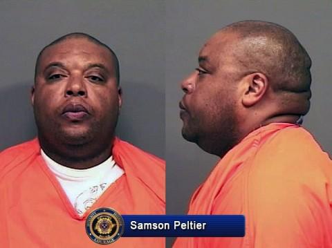 Samson Peltier was arrested for reckless endangerment Thursday night in Clarksville, TN.