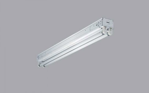 Shoplight fixture is one of the models being recalled by Cooper Lighting.
