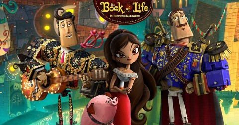 "See ""The Book of Life"" this Saturday at Movies in the Park"