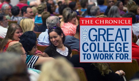The Chronicle's 2015 Great Colleges to Work For