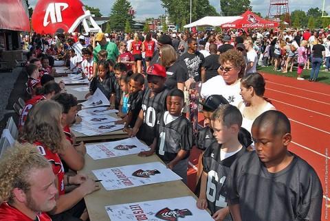 Austin Peay State University Fan Day was held Sunday. (APSU Sports Information)