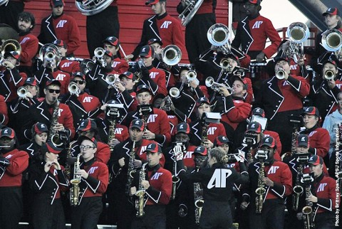 APSU Governors Own Marching Band's Day set for November 7th. (APSU Sports Information)