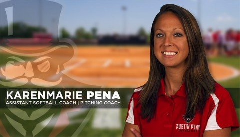 Austin Peay assistant softball coach Karenmarie Pena. (APSU Sports Information)