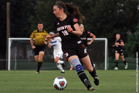 Austin Peay Women's Soccer gets first win of the season. (APSU Sports Information)