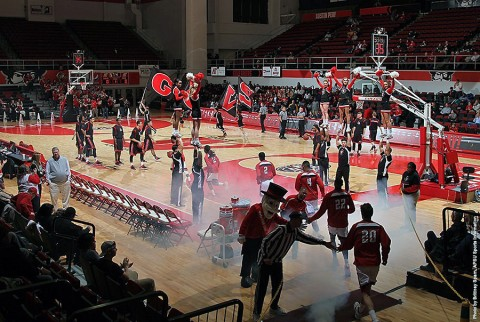 Austin Peay Men's Basketball. (APSU Sports Information)