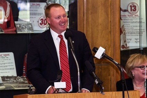 Ryan Ivey became the 13th Austin Peay athletics director on Tuesday, August 4th. (APSU Sports Information)