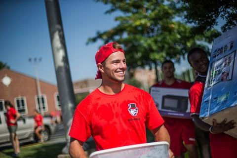 Austin Peay freshmen move in today for fall semester. (APSU)