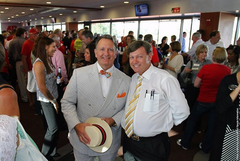 """Clarksville Chamber of Commerce's August """"Business After Hours,"""" has held Thursday, in the Club Level of Austin Peay's Governors Stadium. (APSU Sports Information)"""