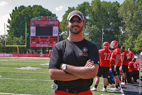 Austin Peay's Seth Billings named associate head athletic trainer. (APSU Sports Information)