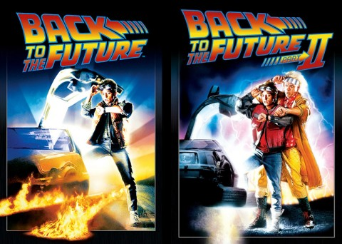 Back to the Future and Back to the Future Part 2 playing this Saturday at Movies in the Park.