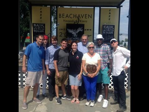 Beachaven Winery Benefit for LEAP Organization sponsored by the Joe Padula Show on 1400 WJZM.