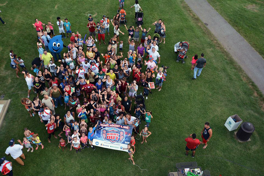 Fort Campbell Soldiers and family members came out to take a stand against crime at National Night Out 2015.