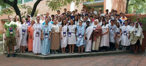 CMCSS Latin Students attend Junior Classical League Convention and Competition.