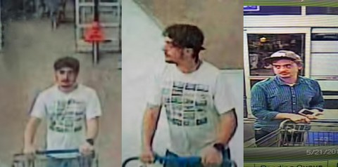 If anyone can identify the suspect in the photos, please call Detective Lifsey at 931.648.0656 Ext 5298 or the Crime Stoppers TIPS Hotline at 931.645.TIPS (8477).