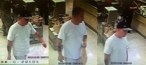 If anyone can identify the suspect in these photos, please call Detective Rushing at 931.648.0656 Ext 5383 or the CrimeStoppers TIPS Hotline at 931.645.TIPS (8477).