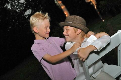 Kris Wolfe's two boys.
