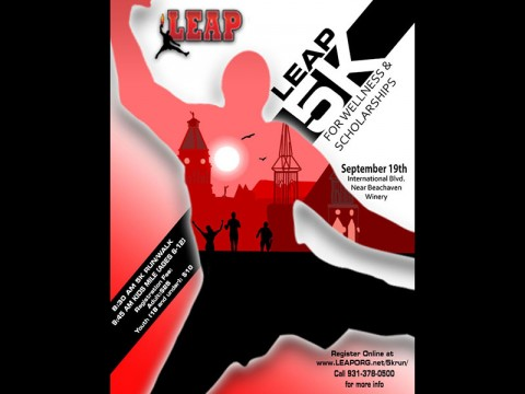 LEAP 5k for Wellness and Scholarships