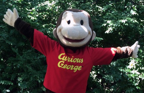 Meet Curious George this Sunday at the Nashville Zoo.