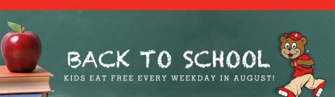 Shoney's Back to School - Kids Eat Free in August