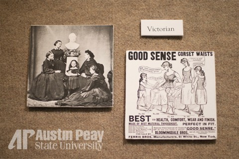 """What Women Wore"" exhibit at APSU"