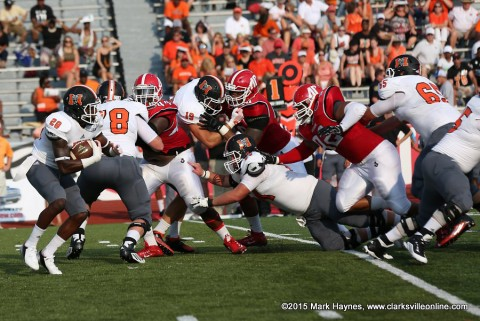 Austin Peay Football's defense showed much improvement against Mercer Saturday.