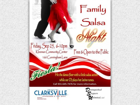 Family Salsa Night